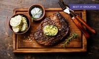 Steak, Chips and Glass of Wine for Two or Four at 1855 Restaurant (Up to 57% Off)
