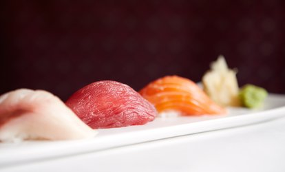 Sushi and Japanese Food for Dinner or Lunch for Two at Sushi Village (Up to 48% Off)