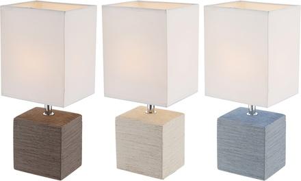 Globo Geometrische Tischleuchte aus Keramik im Modell nach Wahl (Koln)