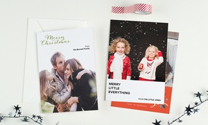 Photobook Canada: Custom Greeting Cards from Photobook Canada (Up to 66% Off)