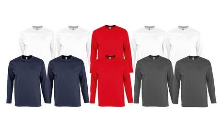 Packs de camisetas 100% algodón