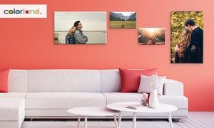 Toile photo personnalisable