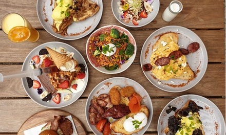 Brunch with Drink for One ($9.50), Two ($19) or Four People ($38) at Saint Lucent Cafe (Up to $97.80 Value)
