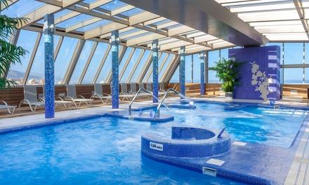 Spa para dos con cena bufet libre, canapé y botella de vino desde 29,95 € en Spa Sol Costa Atlantis