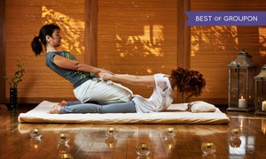 Knot Knot Wellness Lounge: 60-Minute Hydrating and Calming Facial or Thai Herbal Massage at Knot Knot Wellness Lounge (Up to 49% Off)