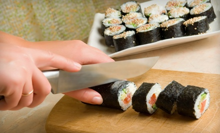 Two- or Three-Course Cooking Class, Sushi-Making Class, or Pho Cooking Class at fuAsian (Up to 56% Off)