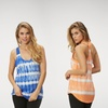 Marika Balance Collection Tie-Dyed T-Strap Tanks