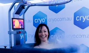 Cryo: Whole Body Cryotherapy for Two People - One ($80), Three ($230) or Five Sessions ($375) Each at Cryo (Up to $810 Value)