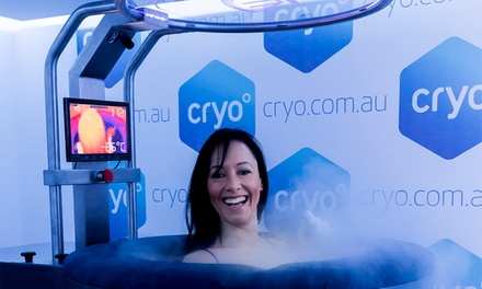 Whole Body Cryotherapy for Two People One $80, Three $230 or Five Sessions $375 Each at Cryo Up to $810 Value