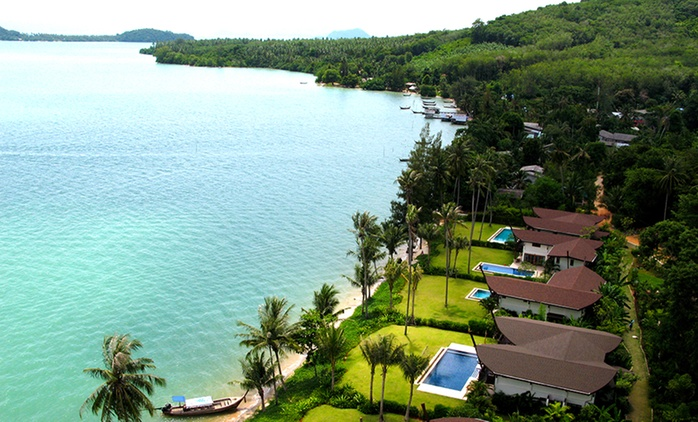 Thailand, Phuket: Two-Seven-Night Beachfront Package Stay with Breakfast and Koh Rang Trip at The Village Coconut Island