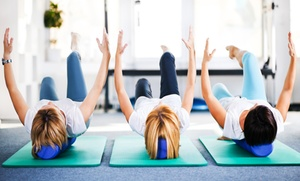 Mind Art Core Pilates Performance: 5 or 10 Class Pass for Pilates Mat or Small Equipment Class at Mind Art Core Pilates Performance (Up to 71% Off)