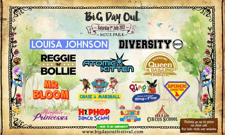 Big Day Out at Mote Park on Saturday, 1 July