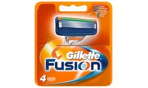 (Beauté)  Lames Gillette Fusion -13% réduction