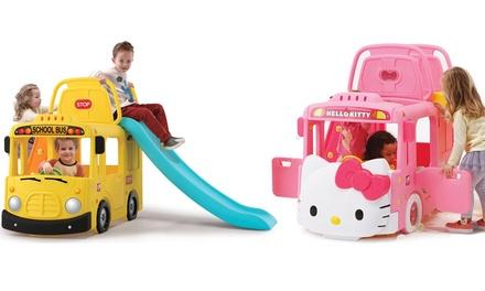 Autobús infantil Riccova con tobogán