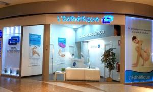 L'Esthétique : 3, 6 o 9 sesiones de presoterapia, masaje y láser lipolítico, cavitación o radiofrecuencia desde 29,95€ en L'Esthétique