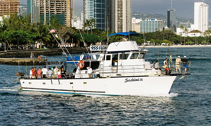 808955FISH - Honolulu: Bottom-Fishing Excursion for One, Two, Four, or Six from 808Fish (35% Off)
