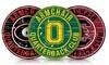 NCAA Armchair QB Round Sign: NCAA ArmchairQB Round Sign