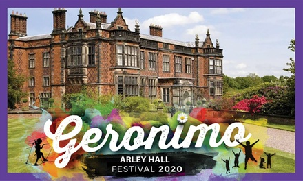 FLASH SALE 241 OFFER: Geronimo Family Festival, 2325 May 20 at Arley Hall full availability!