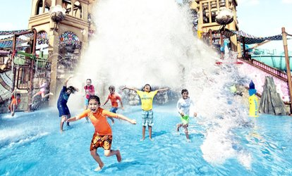 Abu Dhabi Sheikh Zayed Grand Mosque Visit & Yas Water Park Entry for a Child & Adults with Baisan Travel (Up to 43% Off)