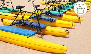 360 Sport 2: Passeio de bicicleta aquática para 2 pessoas com a 360 Sport – Barra da Tijuca