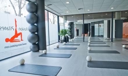 5 o 10 sesiones de pilates Mat para 1 persona desde 29,95 € en Fusión y Pilates