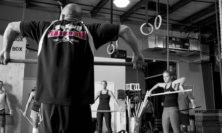 One Month of CrossFit for One or Two with Private Training or Classes Only at The Training Box (Up to 84% Off)