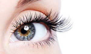 Aviva Beauty: $35 Full Set of Silk Eyelash Extensions, or $59 with a Gel Manicure at Aviva Beauty, Varsity Lakes (Up to $120 Value)