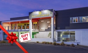 Monterey Cinemas Upper Hutt: Movie Ticket Packages for One ($12) or Two People (From $20) + Dinner ($45) at Monterey Cinema (Up to $78 Value)