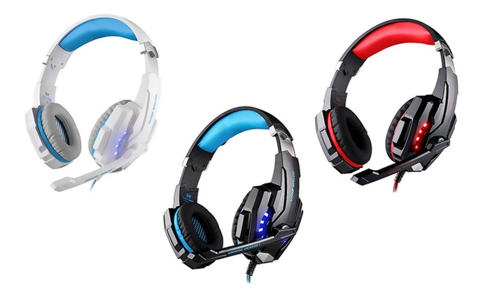 TINYDEAL TRADING LIMITED: $39 for a G9000 Gaming Headphone Stereo Bass LED Light Headset