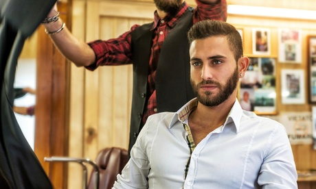 One or Two Men's Haircuts at Get Groomed Barber Company (Up to 74% Off) 6859d095-744d-4f21-9a4f-d166491fd8ae