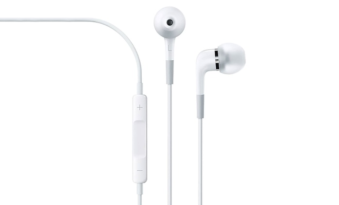 Pair of Apple Earphones with In-Line Controls and Mic (Shipping Included)