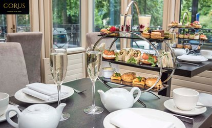 image for Choice of Afternoon Tea with Optional Prosecco for Two at Corus London Hyde Park (Up to 46% Off)