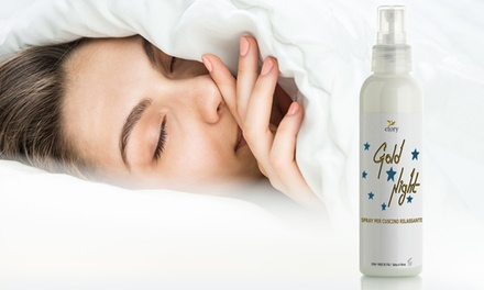 Night Spray rilassante per cuscino