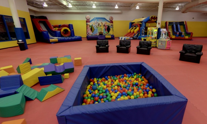 Open-Play Passes for One, Two, or Four Children at Bounce Around (Up to 40% Off)