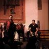 Menú en tablao flamenco