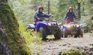 Sports Loisirs Nature: 2h de randonnée en quad pour 1, 2 ou 4 personnes dès 69 € avec Sports Loisirs Nature