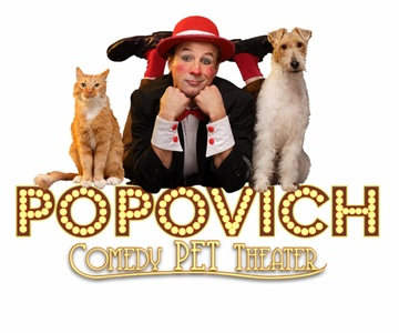 World Famous Popovich Comedy Pet Theatre on December 3 at 3 p.m. or 6 p.m.