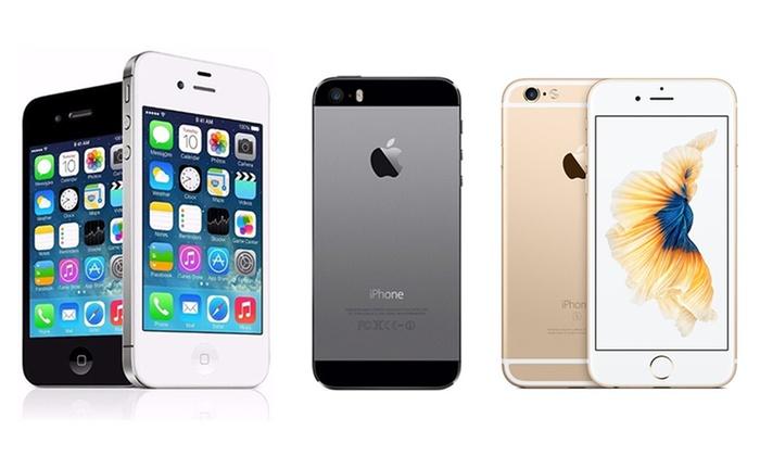 rigenerati srl: iPhone 4S, 5, 5S, 6 o 6S reacondicionado desde 89,90 € con envío gratuito
