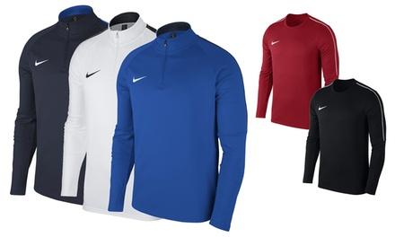 Haut de sport homme Nike Training Academy, avec un col rond ou zippé