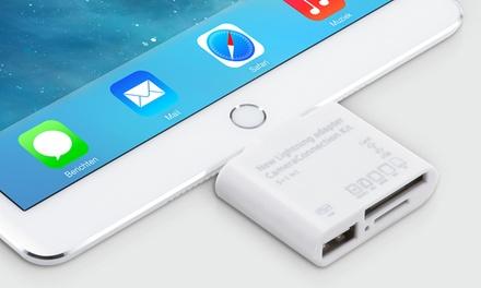 1 o 2 kits para smartphone o tablet con porta USB y ranura SD desde 6,99 € (hasta 78% de descuento)