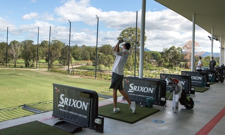 $5 for Driving Range Hire with 45 Balls at KDV Sport (Up to $7 Value)