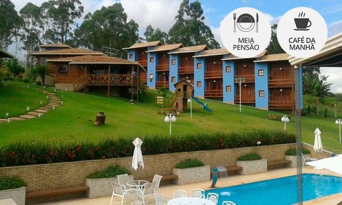 Hotel Fazenda Recanto Azul - Mateus Leme: Mateus Leme/MG: Day use Alta Temporada + café da manhã ou meia pensão (check-in todos os dias) no Recanto Azul