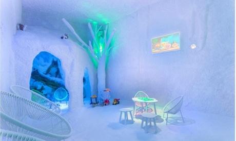 1 o 2 accesos a cueva de sal para 1 o 2 personas, adultos o niños, en Salt Room Pozuelo(hasta 56% de descuento)