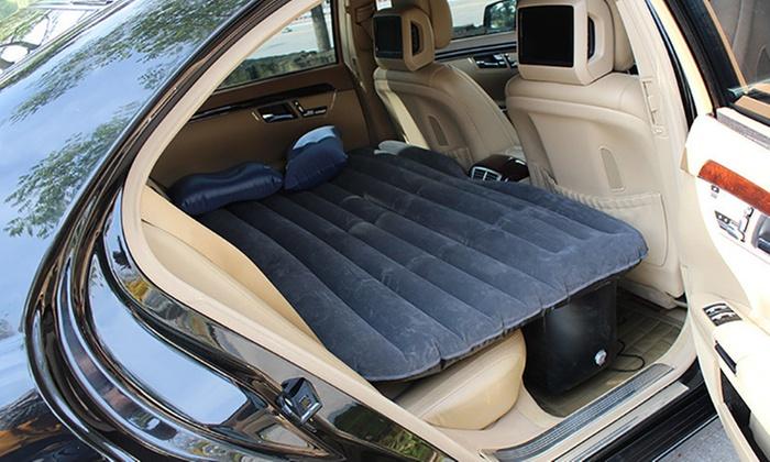 aufblasbare auto matratze groupon. Black Bedroom Furniture Sets. Home Design Ideas