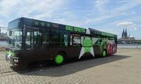 Partybus-Tour durch Köln inkl. Kölsch für bis zu 6 Personen mit Veranstaltungen Mega Partybus