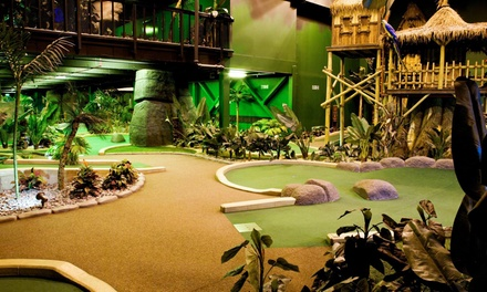 Round of 18Hole Mini Golf for Two or Four at Paradise Island Adventure Golf, Two Locations
