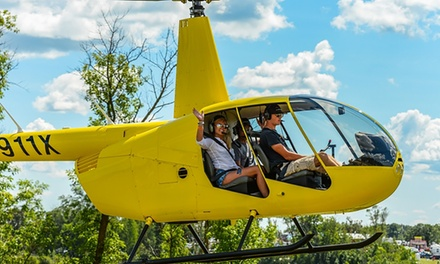15-Mile Aerial Tour for One or Two from Lake Superior Helicopters (Up to 26% Off)