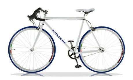 Bicicleta Rotazione con engranaje fijo