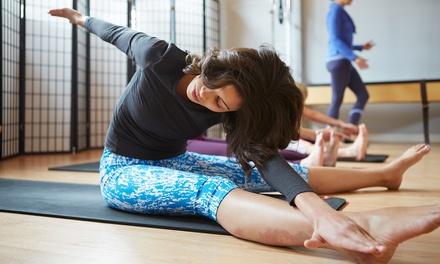 3 o 6 lezioni di pilates