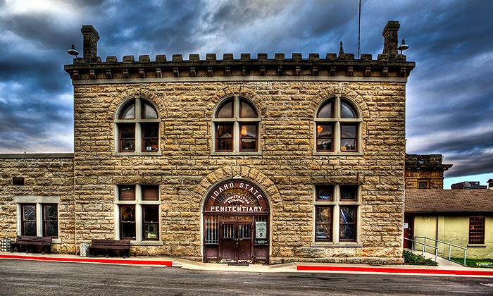 Old Idaho Penitentiary - North - East Ends: Friday Night Tours for Two at Old Idaho Penitentiary on November 4, 11, and 18 (Up to 50% Off)